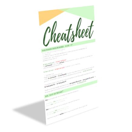 Cheatsheet - Tekst en letters