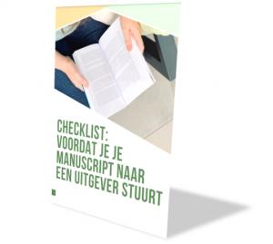 manuscript checklist
